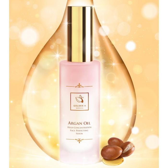 Golden H 高濃度堅果三重保濕精華   送30ml摩洛哥純天然玫瑰純露