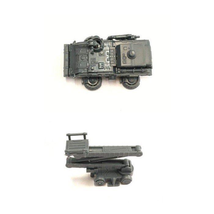 格納庫 專用 改件 地面戰線 1/144 指揮車 升降車 模擬場景改造