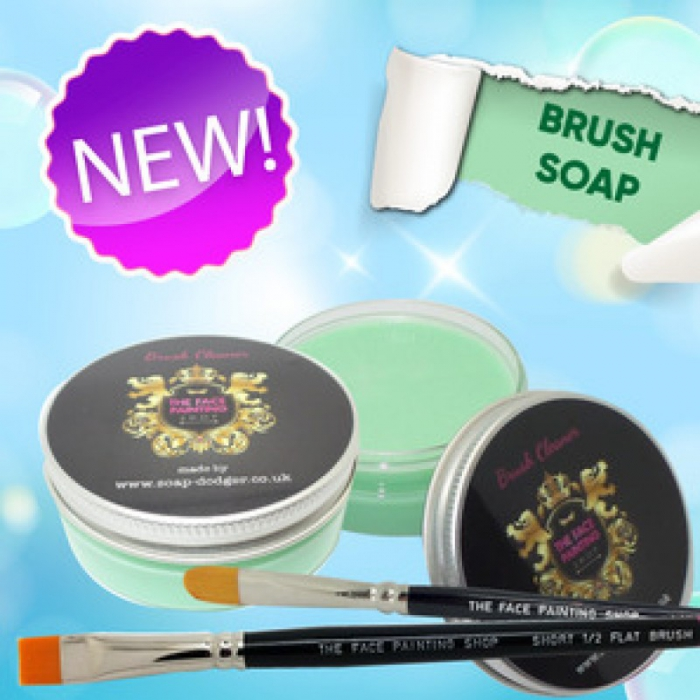 The Face Painting Shop Brush Soap Green (Melon & Cucumber)