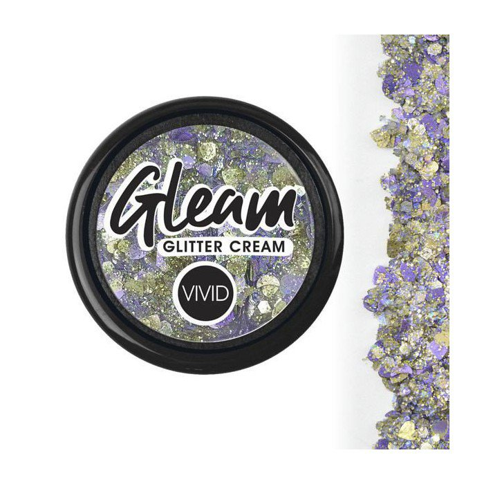Vivid Glitter - Revelation - Gleam Chunky Glitter Cream (10g /Stackable Jar)