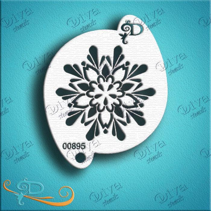 Diva #00895 Terri's Snowflake