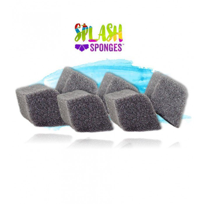 Splash Face Painting Sponges by Jest Paint - Pointed Petal (6 pieces)