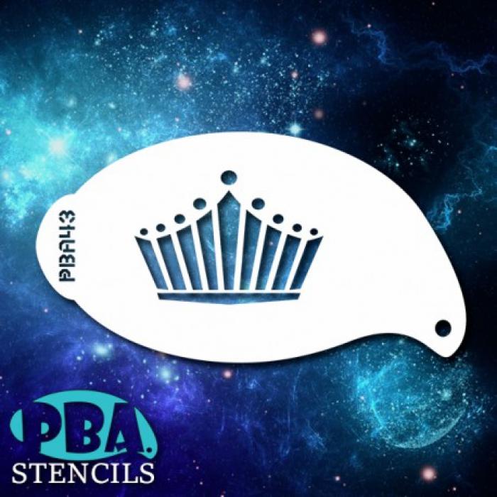 PBA 43 Crown Stencil