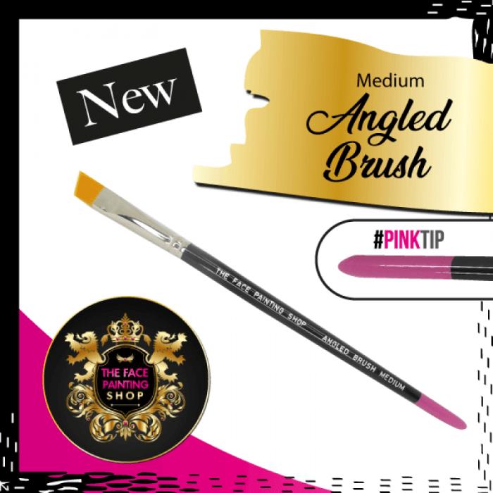 The Face Painting Shop Medium Angled Brush