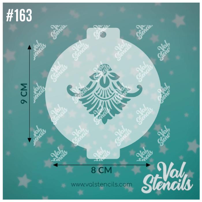 Val Stencils 163 Crown