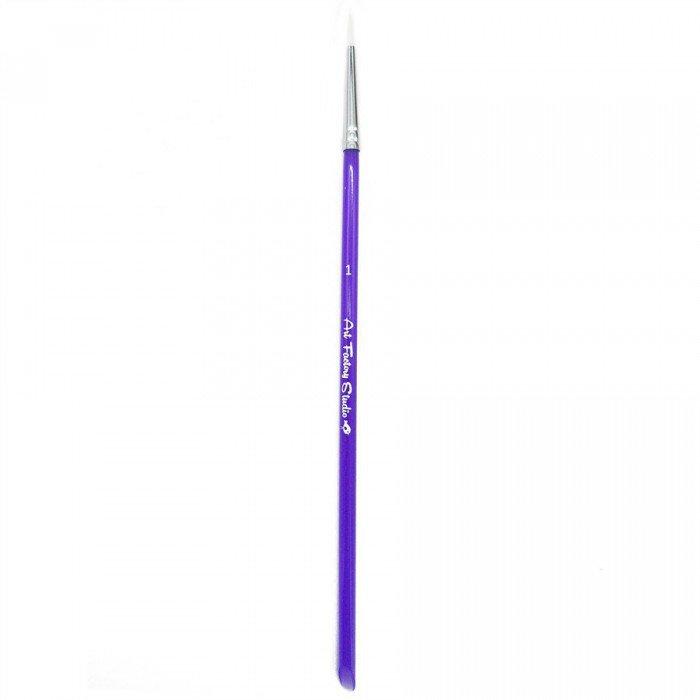 Art Factory: #1 Acrylic Handle Art Factory Studio Round Brush