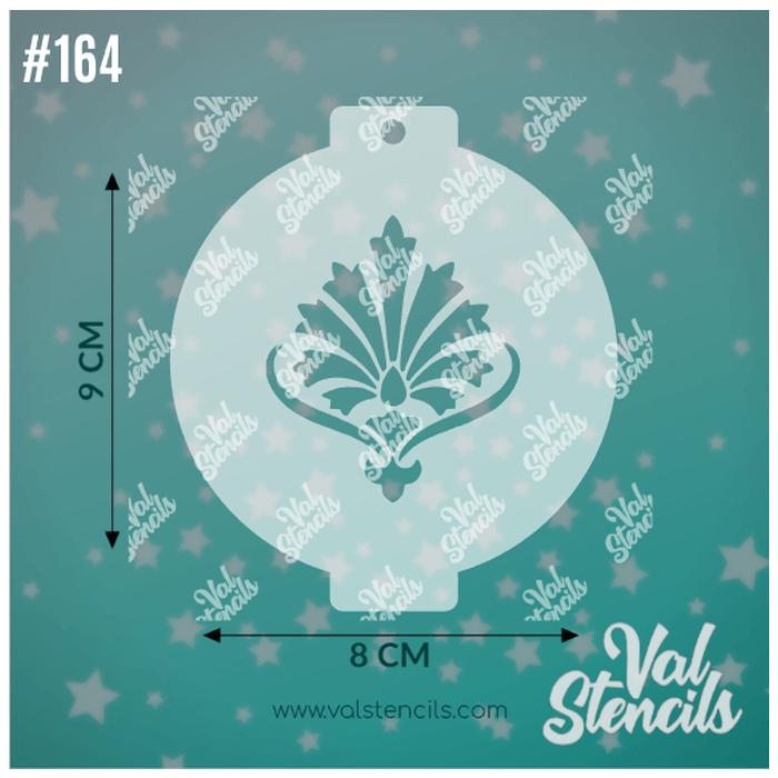 Val Stencils 164 Crown