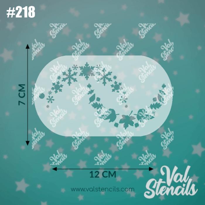Val Stencils | 218 Frozen 2 Snow