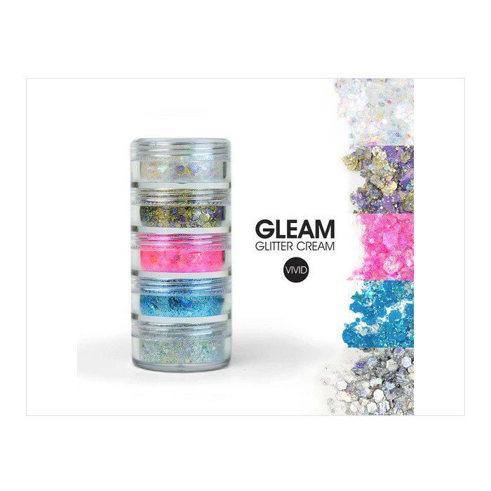 Vivid Glitter - Purity Gleam Chunky Glitter Stack
