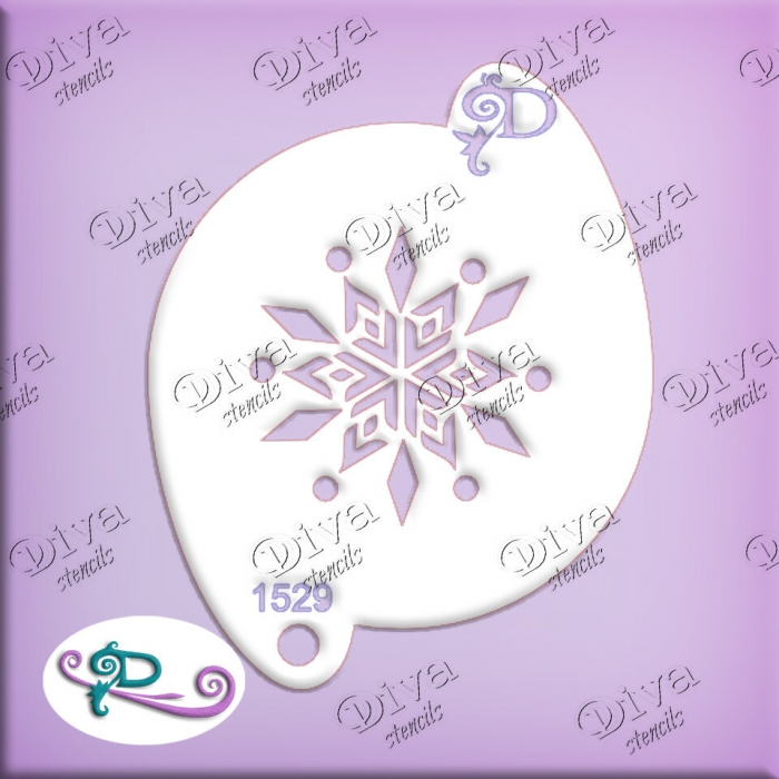 Diva  #01529 Krystal Snowflake