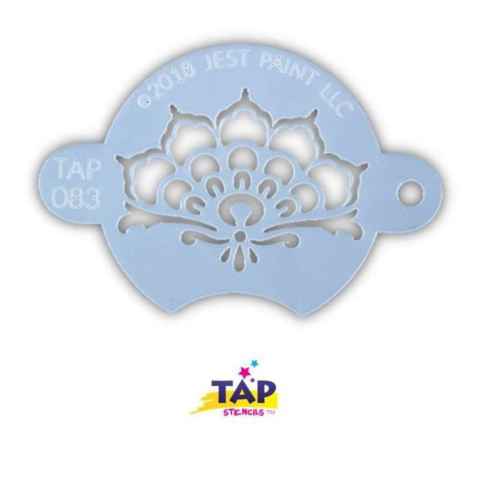 TAP 083 Face Painting Stencil - Henna Crown