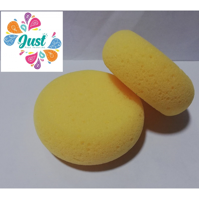 Diamond FX Rounded Shaped  Sponge (Yellow) 2 pieces