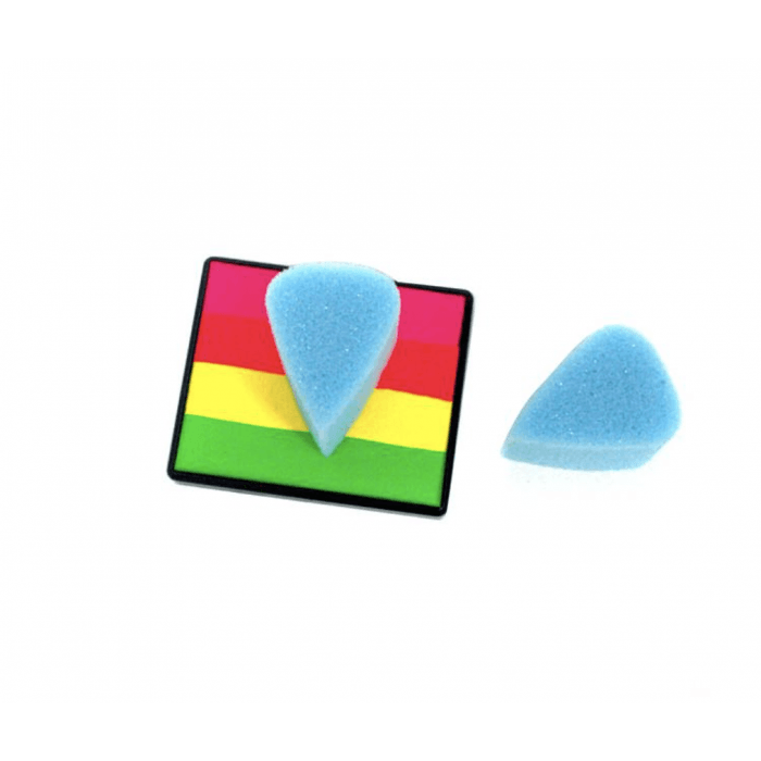 Sillyfarm - Paint Pal Light Blue Lux Tear Drop (Petal) Sponge 1 piece