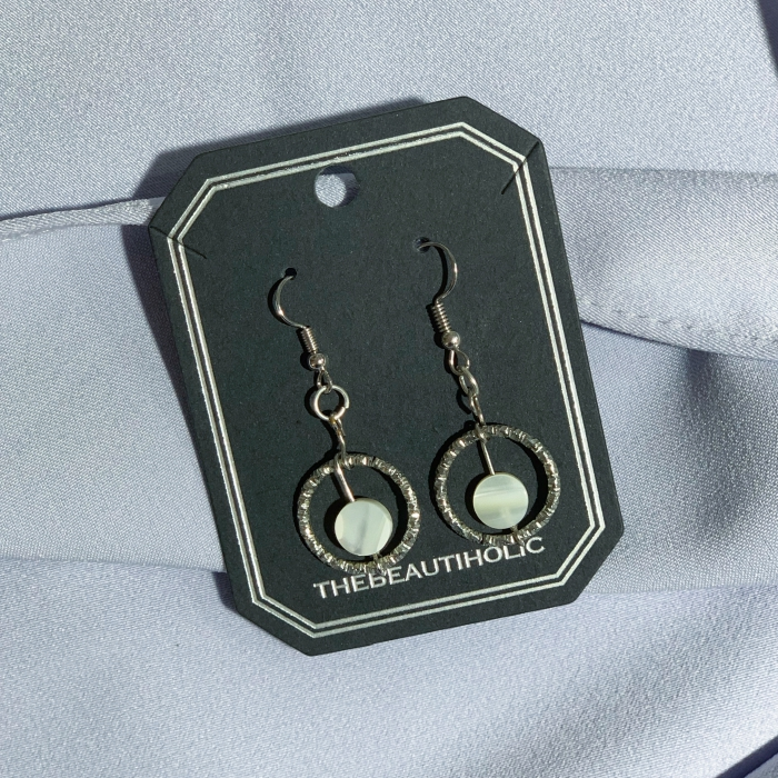 The Simplicity Silver Circle Earrings
