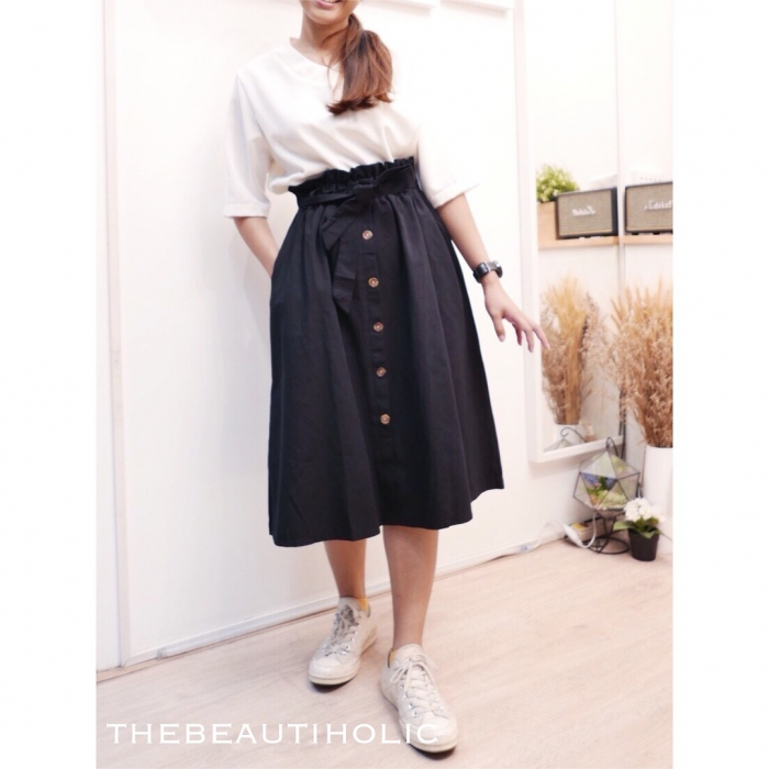 Search Collection Ribbon Long Skirt