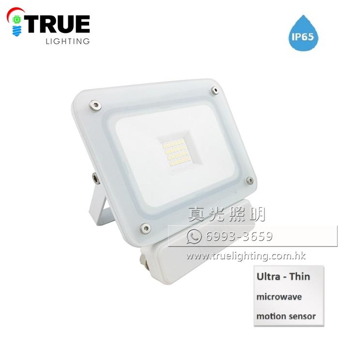 感應燈 泛光燈(超薄防水) 20W LED Floodlight with Sensor