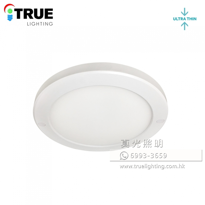 吸頂燈(超薄) 18W LED Ceiling Light(Ultra-Thin 18mm)
