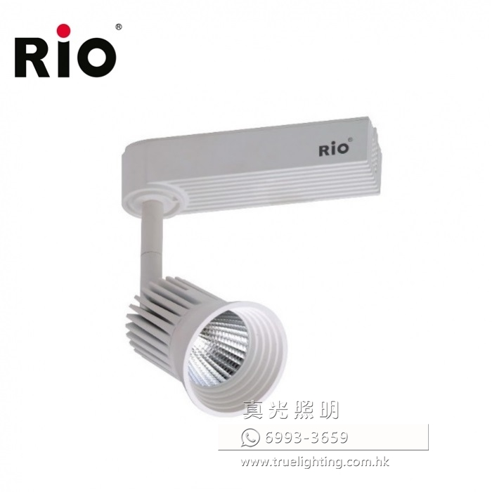 路軌射燈 軌道燈 9W LED Tracklight By RIO LTM401