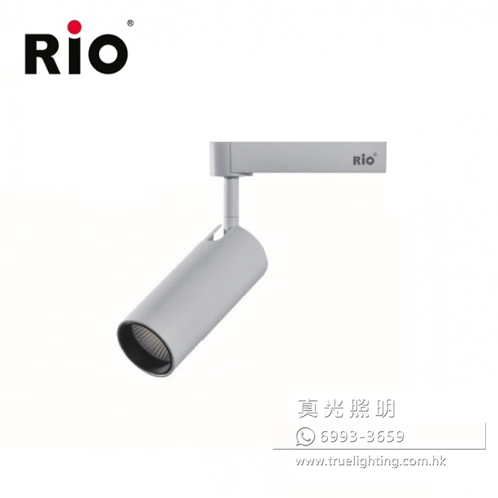 路軌射燈 軌道燈 12W LED Tracklight By RIO LTM505