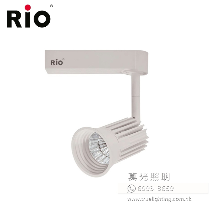 路軌射燈 軌道燈 12W LED Tracklight By RIO LTM402
