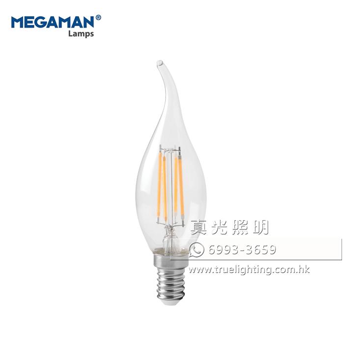 曼佳美 拉尾燈泡 MEGAMAN LED Filament E14 Bulbs LC2204.8TP