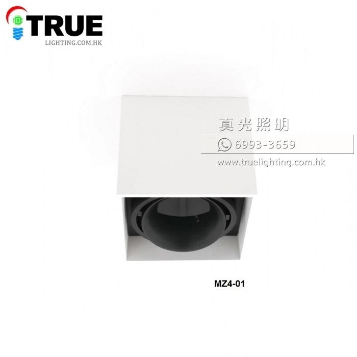 盒仔燈 合仔燈 GU10 LED Box Lamp MZ4-01單頭
