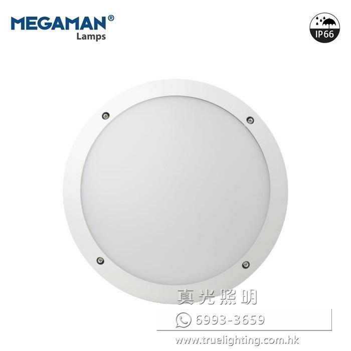 曼佳美 防水吸頂燈 10.5W LED Ceiling Light By MEGAMAN F51100SM IP66