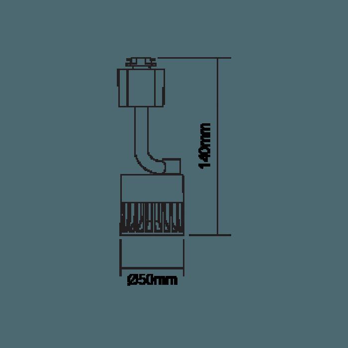 曼佳美 路軌燈 軌道射燈 8W LED Tracklight By MEGAMAN