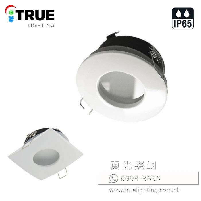 天花射燈架 射燈殼(防水) Recessed Light Frame (IP65) 1569YDG