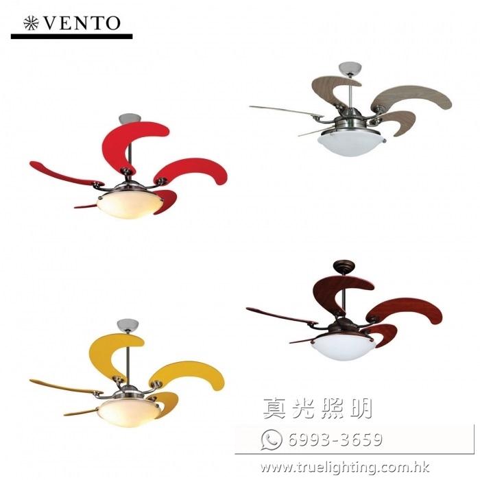 "風扇燈 收合扇 伸縮扇葉 46"" Ceiling Fan By Vento Sole"