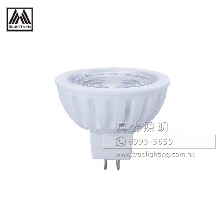 射燈膽 6W MR16 GU5.3 LED Bulbs By MultiTech