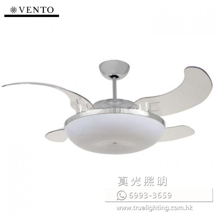 風扇燈 收合扇 伸縮扇葉 46
