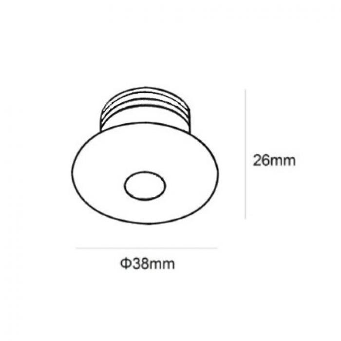 迷你射燈 3W LED Mini Recessed Spotlight