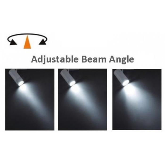 路軌射燈 軌道燈(可調焦) 12W LED Track Light (Beam-angle Adjustable)