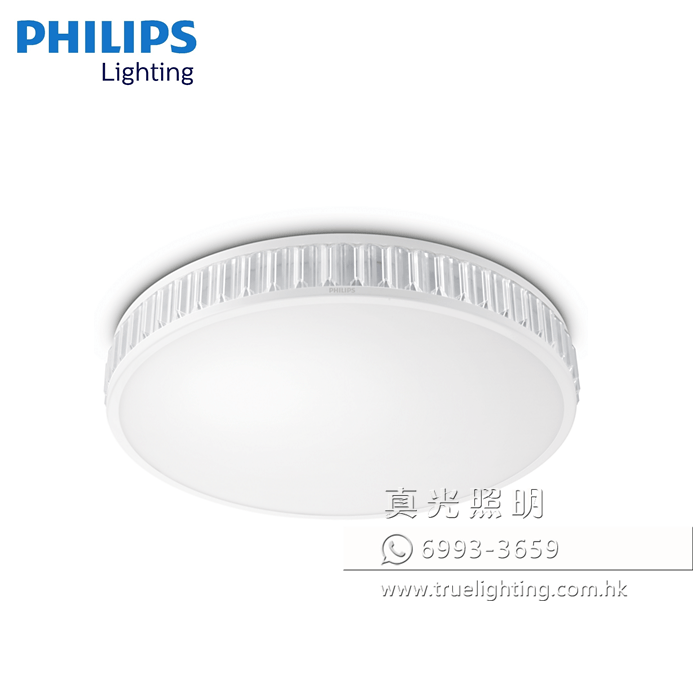 飛利浦 吸頂燈 水晶燈 30W LED PHILIPS Ceiling Light 31114 (4000K)
