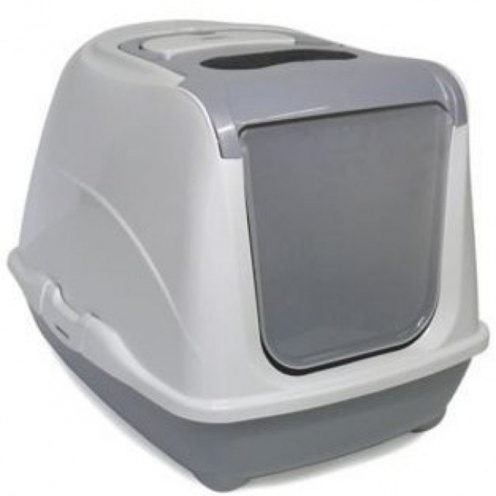 Moderna Flip Jumbo Cat Litter Box 半開蓋式方形特大貓廁所